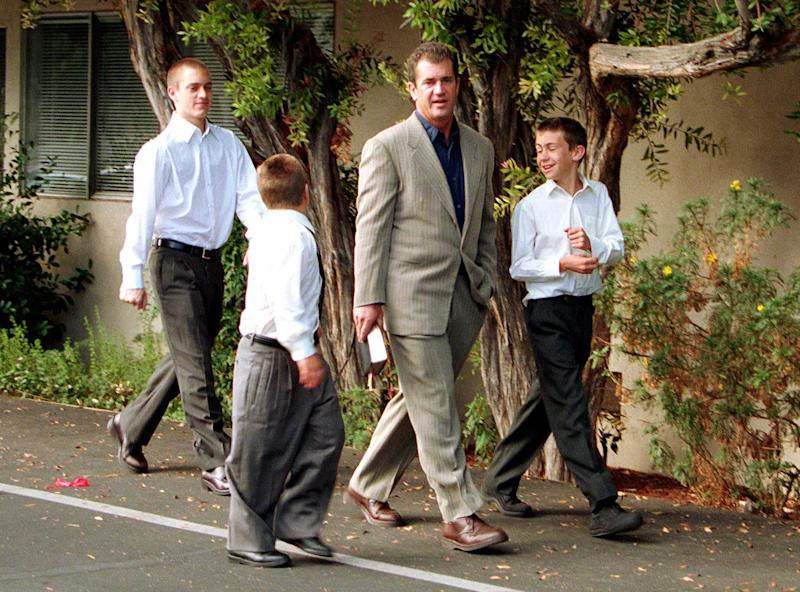 Mel Gibson and sons