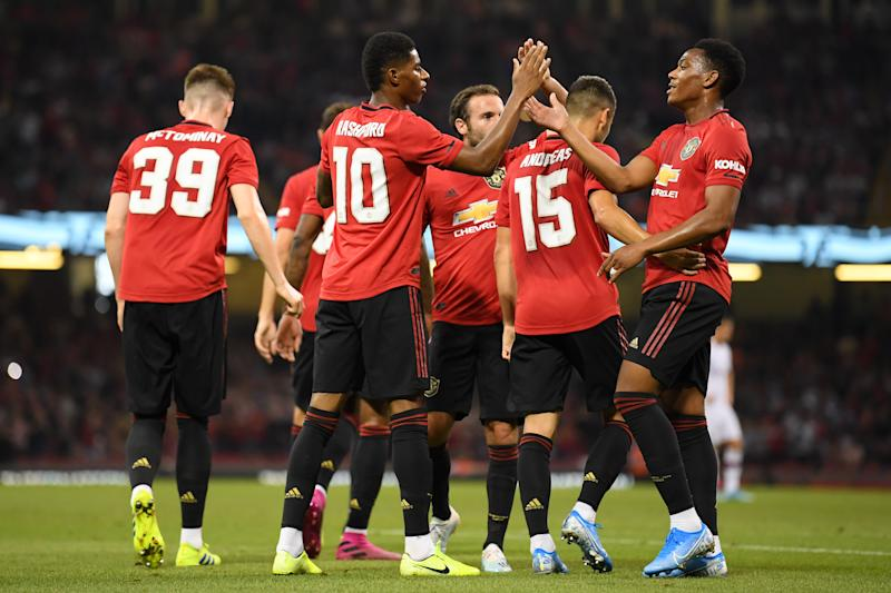Manchester United could be back in the top four this year. (Photo by Alex Davidson/International Champions Cup/International Champions Cup via Getty Images)