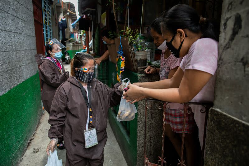 Philippine capital reimpose strict lockdown amid coronavirus infections spike