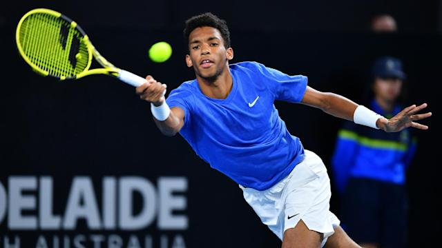 The seeds continue to fall in Auckland, while Felix Auger-Aliassime put in an imperious showing in Adelaide.