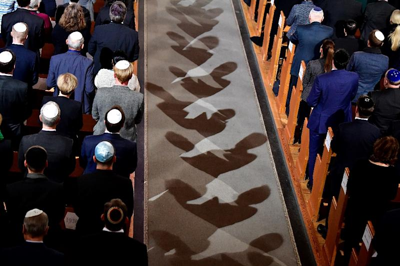 Berlin's Jews last November commemorated the 80th anniversary of the Kristallnacht Nazi pogrom  -- but a government advisor says wearing the kippa could sometimes be risky in today's climate of rising anti-Semitism