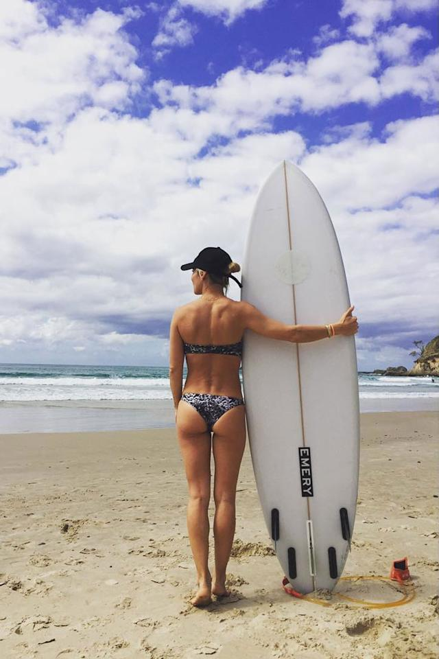 """<p>""""Summer and surf forever.""""  - Elsa Pataky (probably).</p>"""