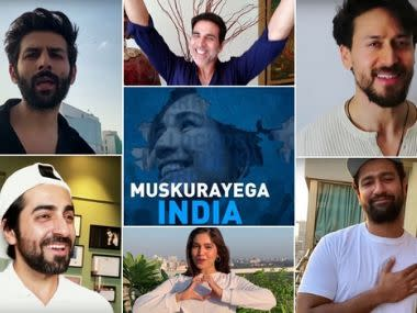 Coronavirus Outbreak: Akshay Kumar, Taapsee Pannu, others unite for song Muskurayega India to boost public morale