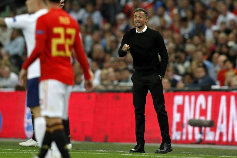 New Spain coach Luis Enrique