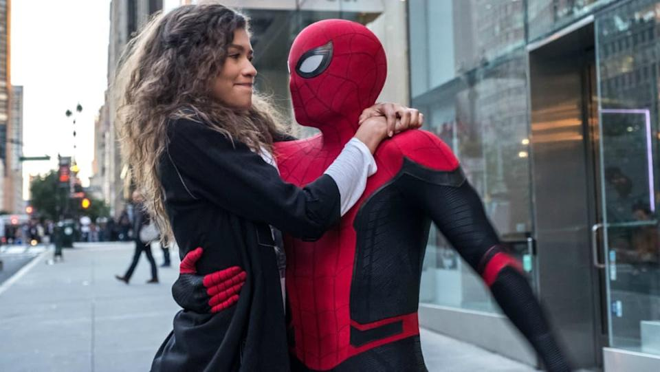 Tom Holland et Zendaya dans Spider-Man: Far From Home - Sony Pictures Entertainment