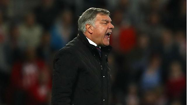 Everton are not talking to Sam Allardyce about the vacancy at Goodison Park, according to the former England manager.