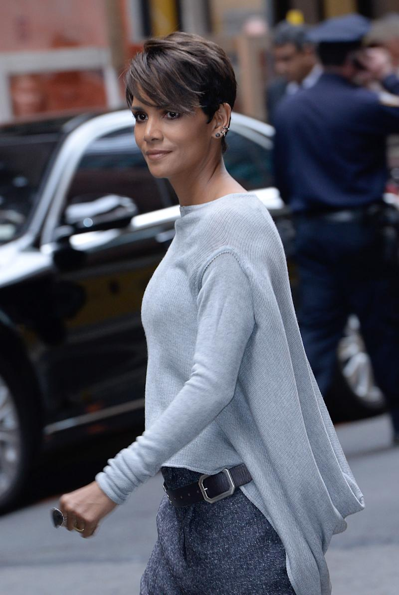 Halle Berry departs Carnegie Hall on May 14, 2014 in New York City