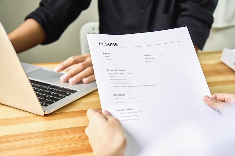 There are good fonts and bad fonts to use for your resume. (Source: Getty)