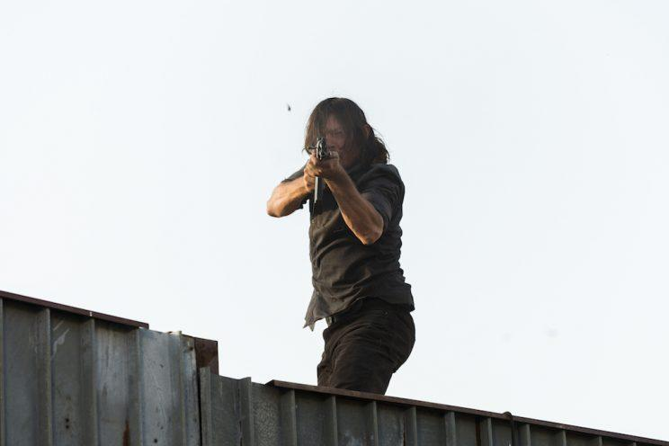 Norman Reedus as Daryl Dixon on AMC's The Walking Dead