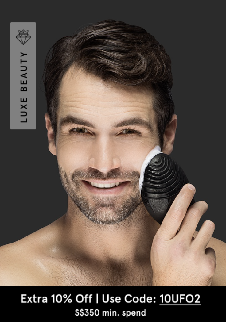 PHOTO: Zalora. FOREO LUNA 2 for Men