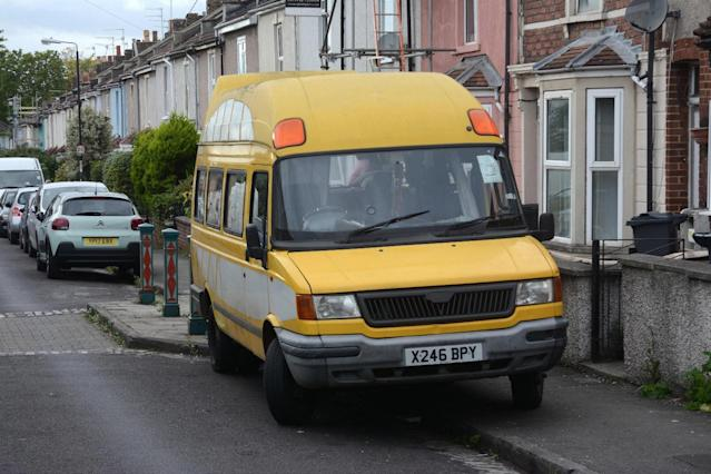 Would you pay £220 to live in this van? Bristol Post/SWNS.com