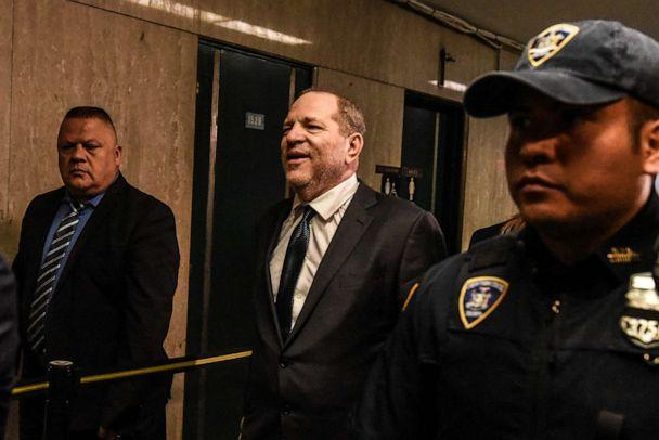 PHOTO: Harvey Weinstein enters the courthouse on July 11, 2019, in New York. (Stephanie Keith/Getty Images, FILE)