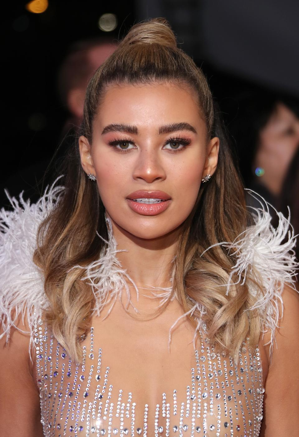 Montana Brown appeared on Love Island in 2017. (Photo by Mike Marsland/WireImage)