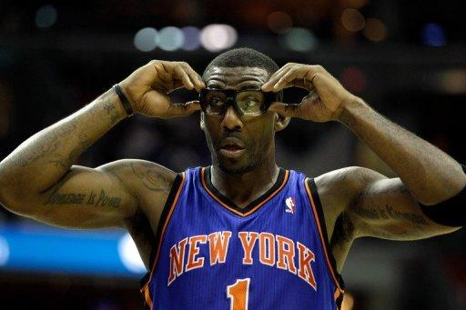 Amare Stoudemire's status for the remainder of the first-round Eastern Conference best-of-seven is uncertain