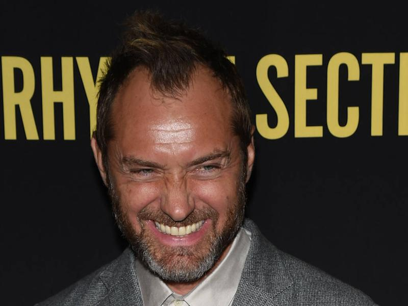 Jude Law confirms he's a dad for sixth time