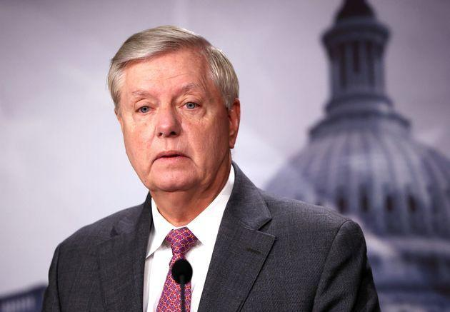 Sen. Lindsey Graham (R-S.C.), seen here Friday, said hehas tested positive for COVID-19 and has been having flu-like symptoms since Saturday night. (Photo: Kevin Dietsch via Getty Images)