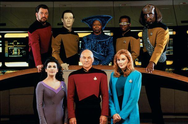 PHOTO: Cast photo for 'Star Trek: The Next Generation,' 1987. (CBS via Getty Images)