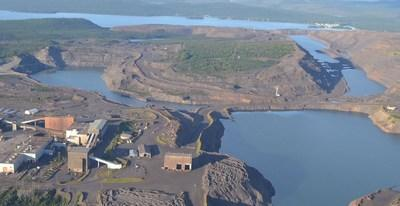The Scully Iron Ore Mine