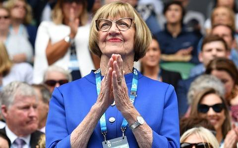 <span>Margaret Court will go crabbing with her family instead</span> <span>Credit: Getty Images </span>