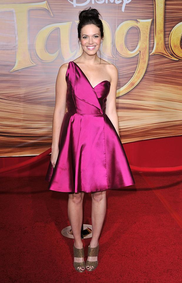 "<a href=""http://movies.yahoo.com/movie/contributor/1802753883"">Mandy Moore</a> attends the Los Angeles premiere of <a href=""http://movies.yahoo.com/movie/1810121160/info"">Tangled</a> on November 14, 2010."