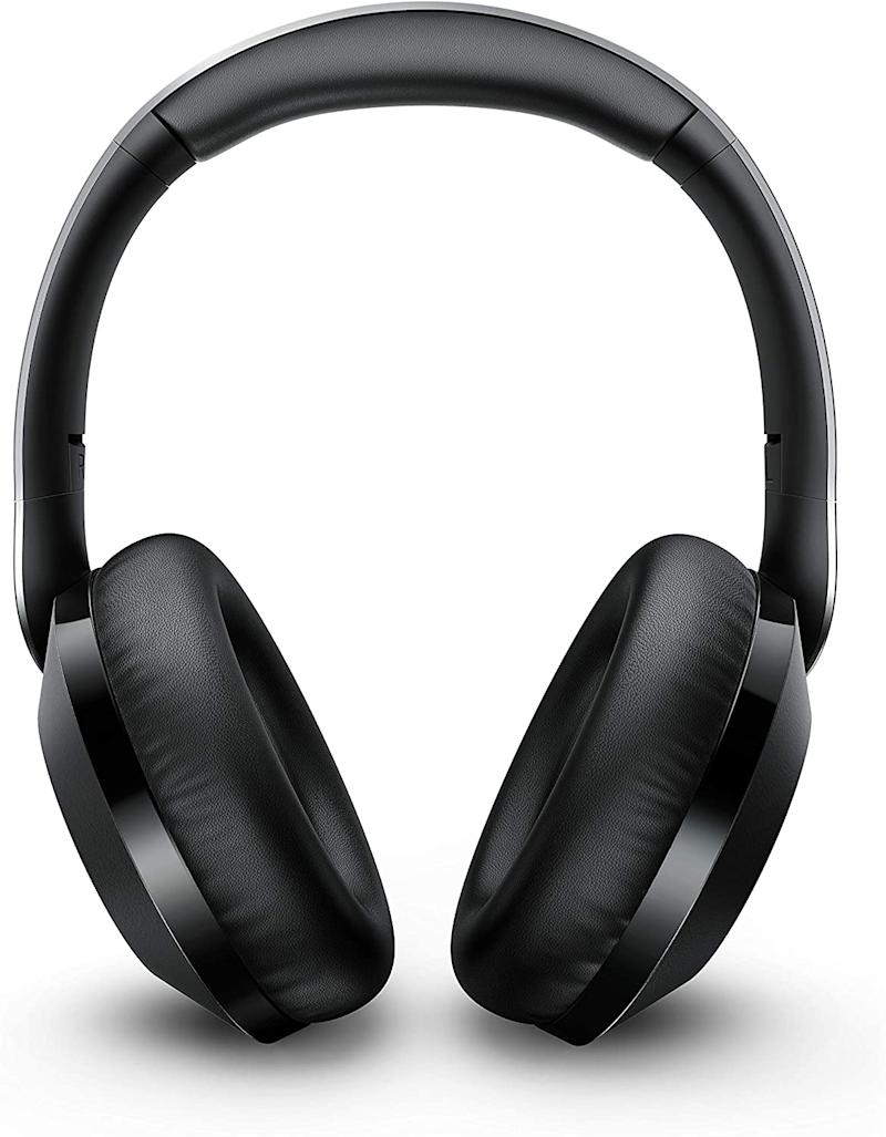 Philips Performance PH805 Wireless Bluetooth Active Noise Canceling Over Ear Stereo Performance Headphones with Hi-Res Audio
