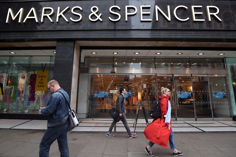 Marks & Spencer previously announced 38 stores were closing (PA)