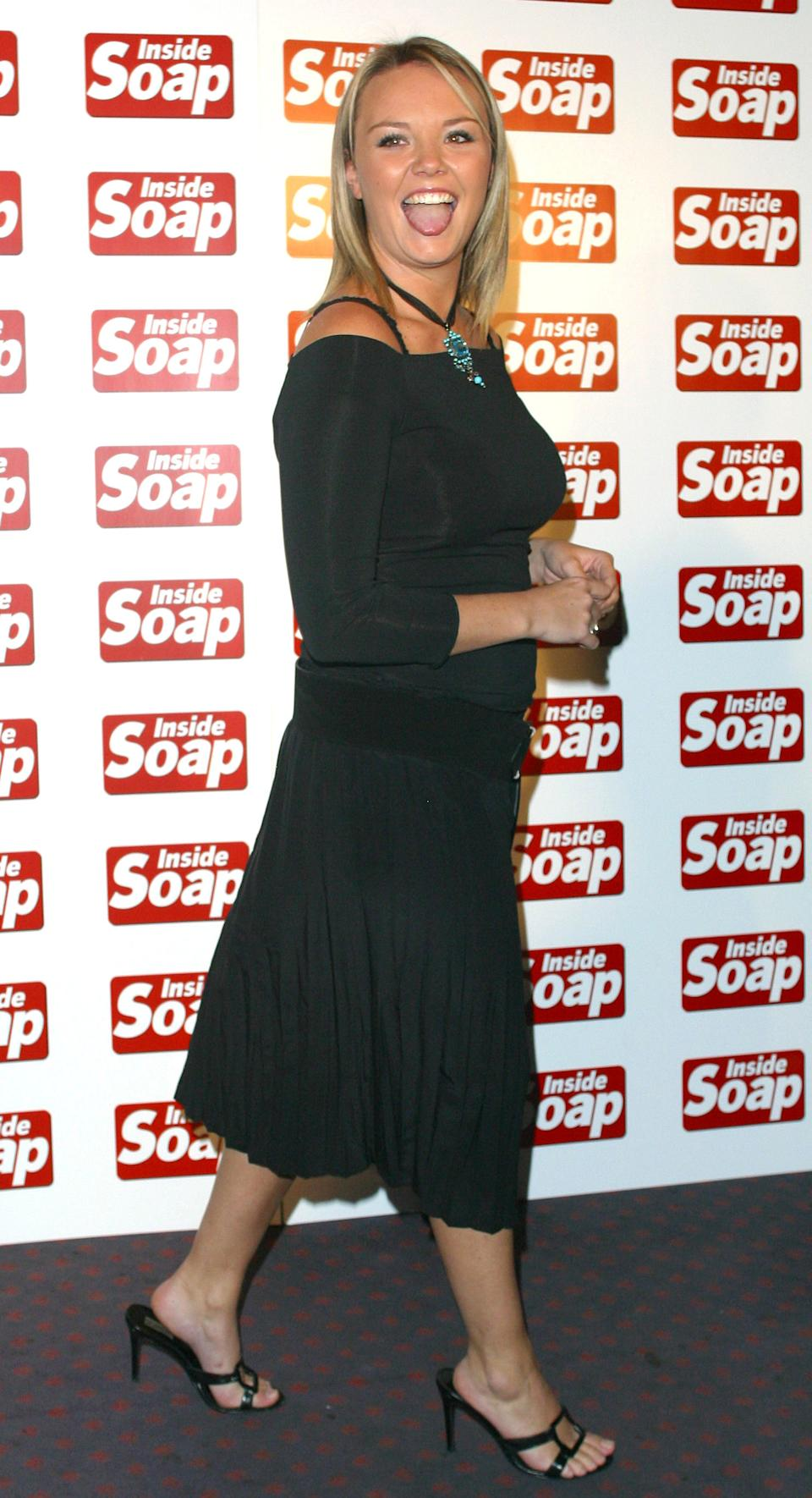 Charlie Brooks At The 2002 Inside Soap Awards In London. (Photo by Justin Goff\UK Press via Getty Images)
