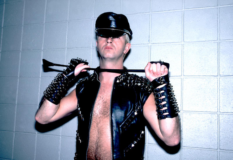 Rob Halford in 1984. (Photo: Paul Natkin/WireImage)