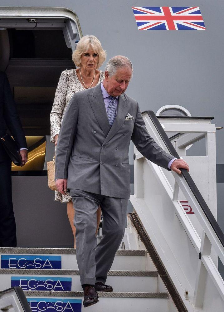 Prince Charles and Camilla, Duchess of Cornwall | ADALBERTO ROQUE/AFP/Getty Images