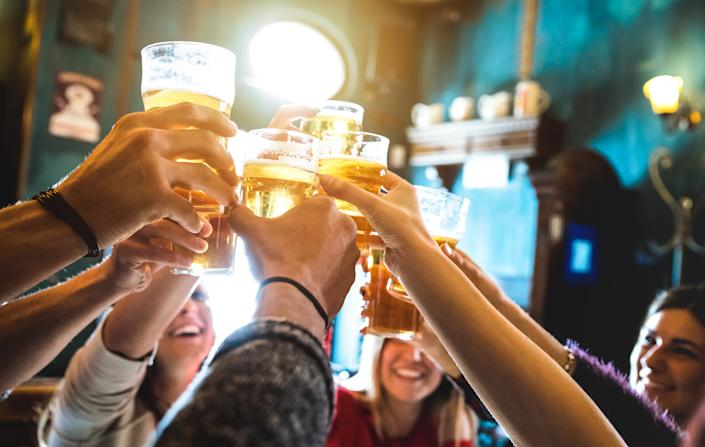 The new study could change how we look at binge drinking in the future. [Photo: Getty]