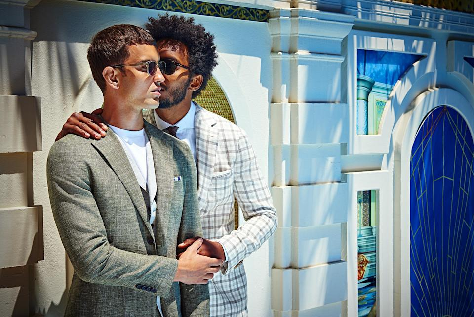 Another image from Suitsupply's new campaign. (Photo: Suitsupply)