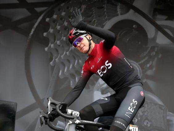 Chris Froome was hoping to compete for victory at the Tour de France (PA)