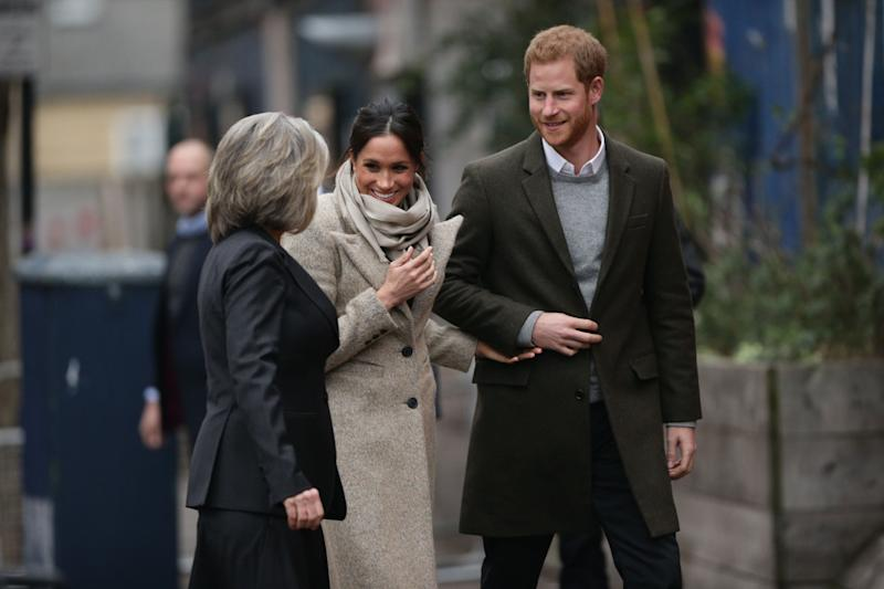 Prince Harry and Meghan Markle visit south London