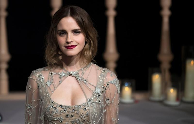 Emma Watson was one of the best dressed of the night, and she wasn't even at the Oscars