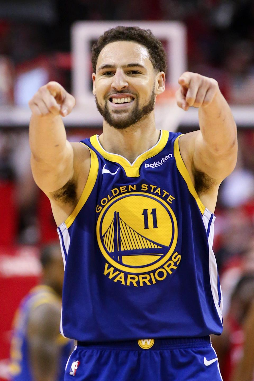 Klay Thompson is returning from a torn Achilles he suffered on the day of the NBA draft in 2020.