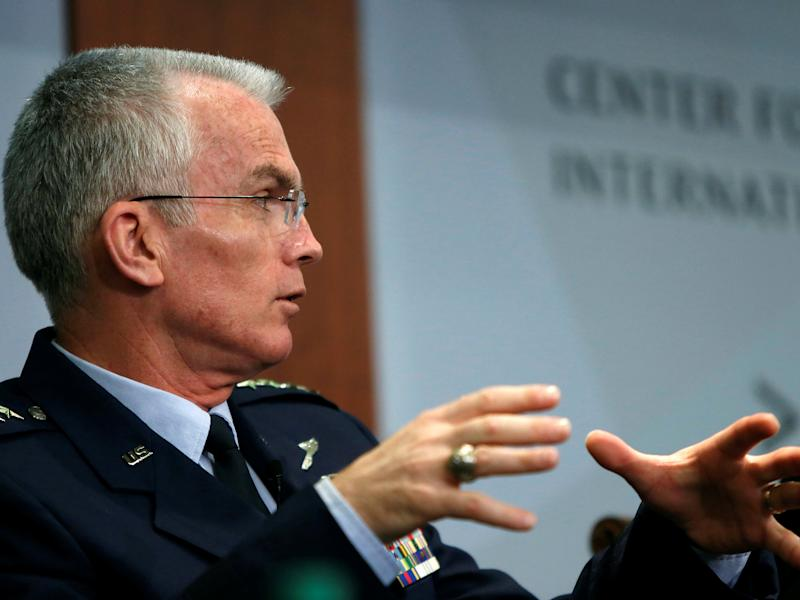 Paul Selva said Russia 'did not intend to return to compliance' with the arms treaty: Reuters