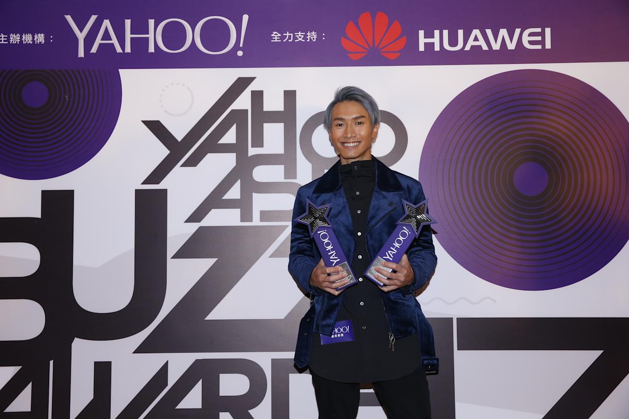 <p>Jason Chan wins the Netizen's Favourite Male Singer and Top Buzz Song awards at the Yahoo Asia Buzz Awards 2017 in Hong Kong on Wednesday (6 December).</p>