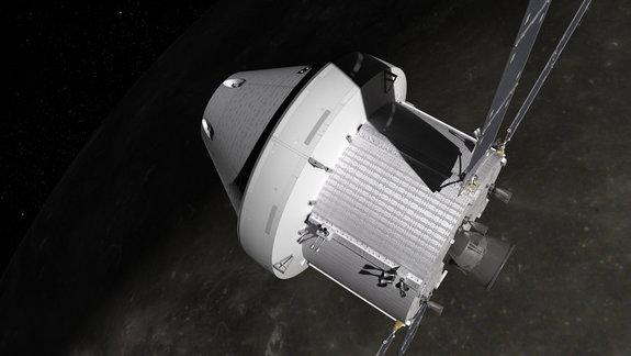 NASA's Orion spacecraft will carry astronauts further into space than ever before using a module based on Europe's Automated Transfer Vehicles (ATV).