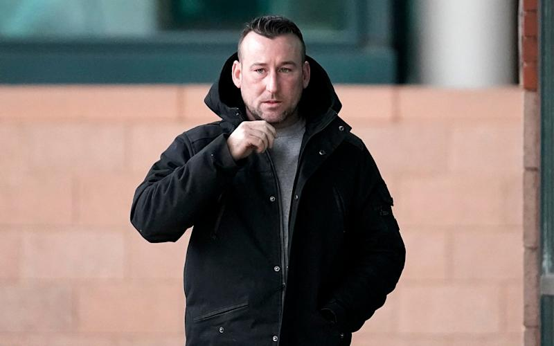 John Ward, 33, pleaded guilty to conspiracy to burgle and to commit criminal damage - 2018 Getty Images