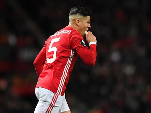 Jose Mourinho explains why Manchester United's Marcos Rojo eating a banana was no laughing matter