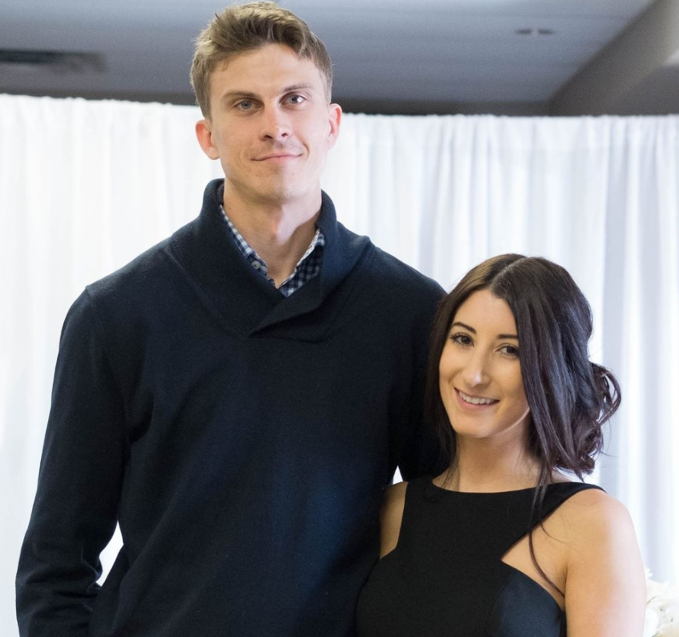 Canadian couple Alex and Jennifer Witmer pictured together.