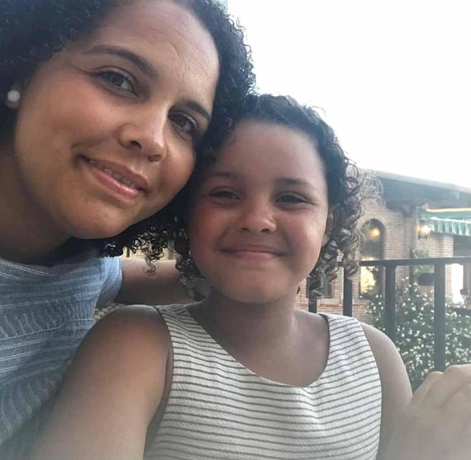 Mum Sarah says her daughter Scarlet September lost sight in her eye after using topical steroids for eczema. PA REAL LIFE COLLECT