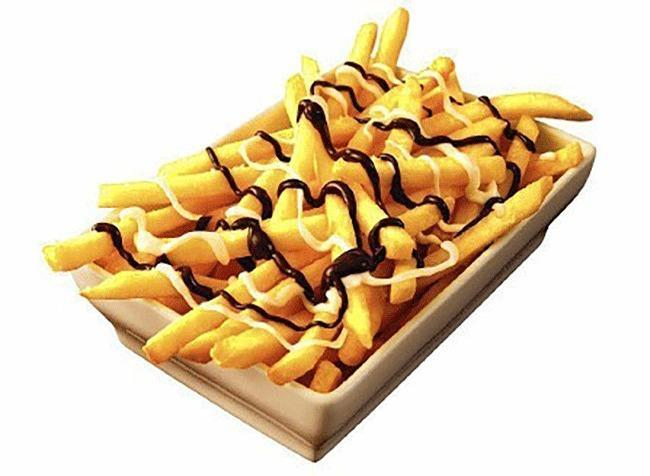 chocolate covered french fries mcdonalds
