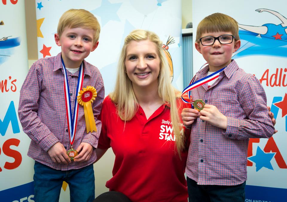 Adlington captured hearts by winning two gold medals in Beijing and now runs Becky Adlington's Swim Stars in Whitefield