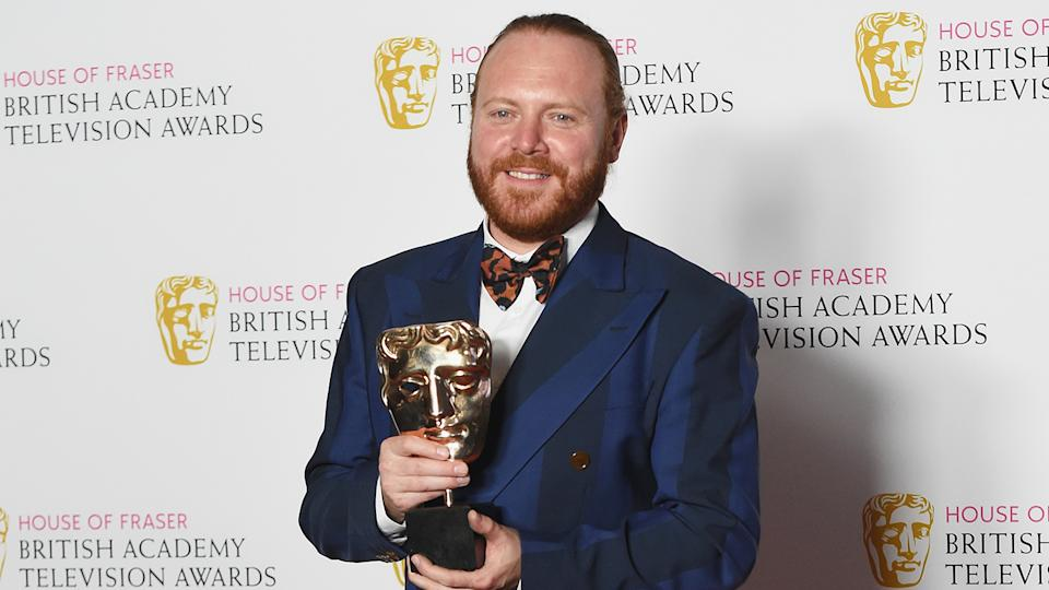 Keith Lemon was flabbergasted to win a BAFTA
