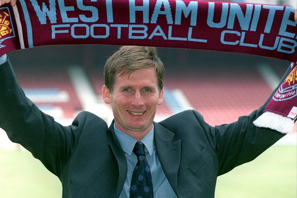 <p>Glenn Roeder was West Ham manager between 2001-03</p> (Getty Images)