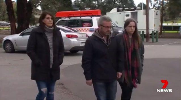The Ristevski family had appealed for information on Karen's disappearance. Picture: 7 News