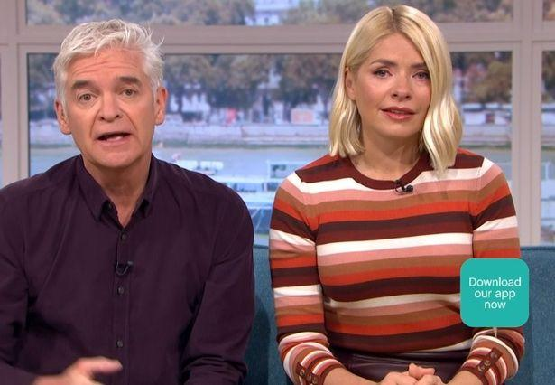 Holly Willoughby was moved by Speakman's account of domestic violence (Credit: ITV)