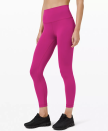 """<p><strong>Lululemon</strong></p><p>lululemon.com</p><p><a href=""""https://go.redirectingat.com?id=74968X1596630&url=https%3A%2F%2Fshop.lululemon.com%2Fp%2Fwomens-leggings%2FWunder-Train-HR-Tight-25-MD%2F_%2Fprod9860128&sref=https%3A%2F%2Fwww.seventeen.com%2Ffashion%2Fg30519407%2Fdoes-lululemon-have-sales%2F"""" rel=""""nofollow noopener"""" target=""""_blank"""" data-ylk=""""slk:Shop Now"""" class=""""link rapid-noclick-resp"""">Shop Now</a></p><p><strong><strong><del>$98</del> $79 (19% off)</strong></strong></p><p>They've got allll kinds of leggings on super-sale. Whether you're a 25"""" lover or a 28"""" fan (*raises hand*), you can take home your go-to leggings at a sweet discount.</p>"""