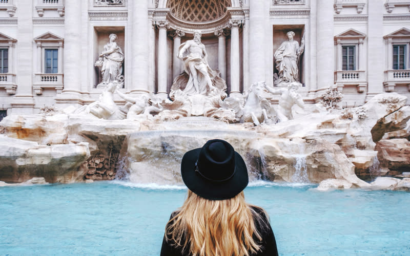 <p>Dubbed one of the most romantic cosmopolitan cities in the world, Rome was the most searched-for Italian escape of 2018. We're putting it down to the must-see Trevi Fountain and drool-worthy cuisine. <em>[Photo: Getty]</em> </p>